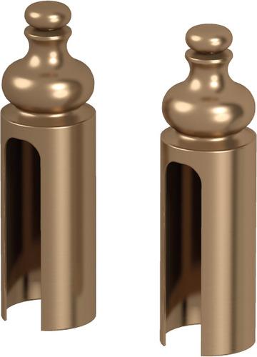 ACCESORII DISPONIBILE OPŢIONAL,capace pentru balamale Villadora auriu antichizat