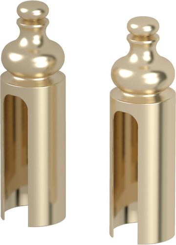 ACCESORII DISPONIBILE OPŢIONAL,capace pentru balamale Villadora auriu